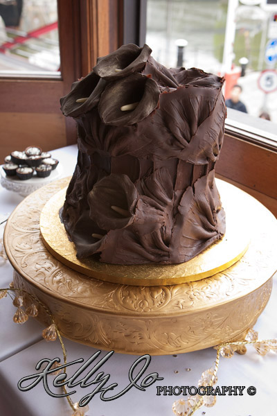 ChoccywoccyDooDah Wedding Cake