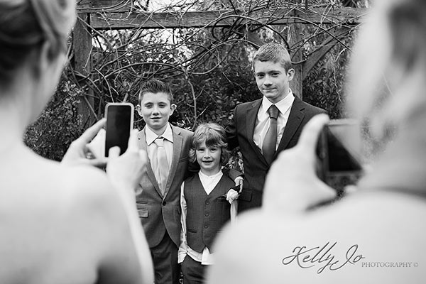 Child portrait at a wedding in Bicester