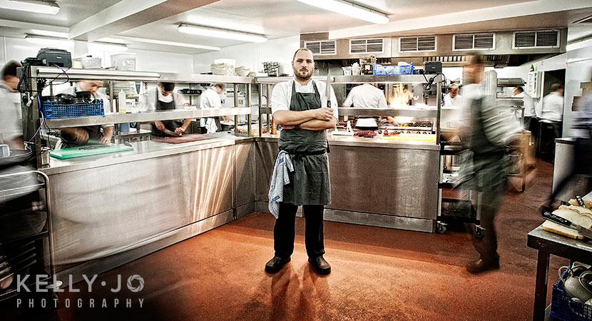 Chef Portrait Photography | © Kelly Jo Photography