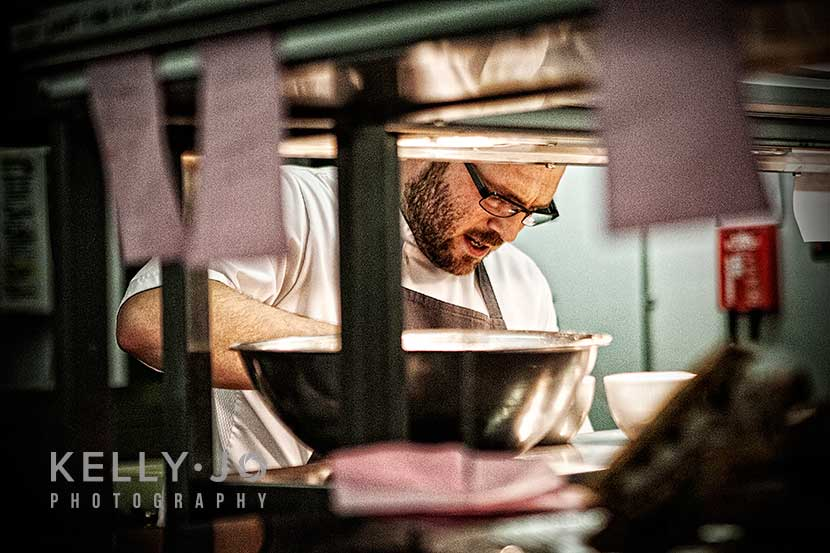 Chef Portrait at the Pass