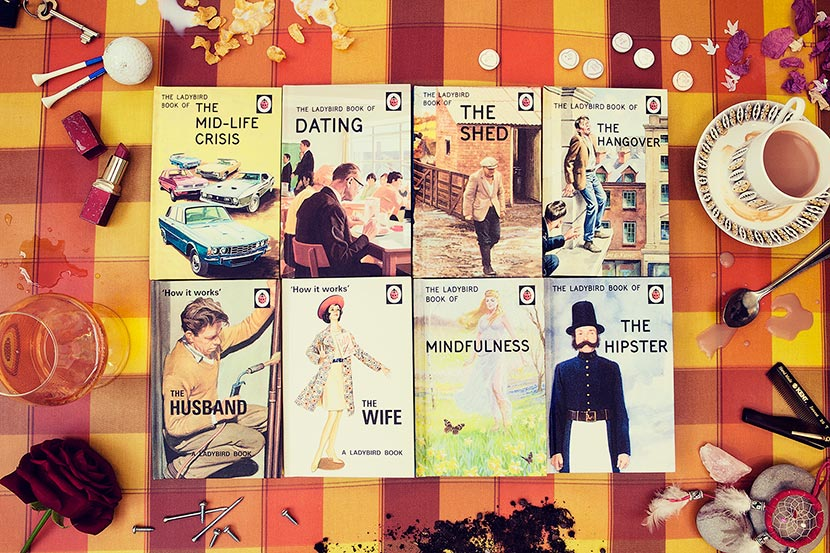 Ladybird Books for Grown-ups | Kelly Jo Photography